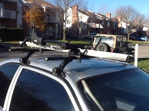 Thule sidearm roof rack for bikes West Island Greater Montréal image 1