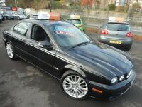 Jaguar X-Type S (black) 2008