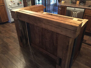 hand crafted timber frame islands and bars Cambridge Kitchener Area image 3