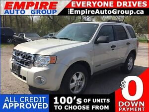 2008 FORD ESCAPE XLT * POWER GROUP * PREMIUM CLOTH SEATING
