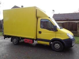 2010 (10reg) Iveco Daily 2.3TD 35S11 MWB Luton Box Van with 500kg Taillift