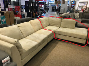 Chaise Lounge Sofa - Brand New! - $350