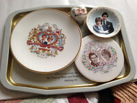 Prince Charles and Diana collectibles