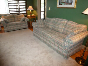 Sofa Set - Matching Couch and Love seat