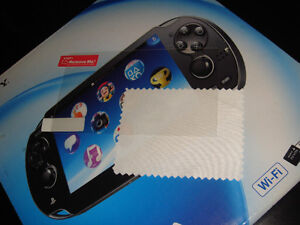 PS VITA-PELLICULE ÉCRAN/SCREEN PROTECTOR SHEET (NEUF/NEW)