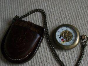 Disney pocket watch.