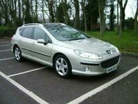 2006 Peugeot 407 2.0 HDi 136 Executive 5dr [6] Tip Auto ESTATE Diesel Automatic