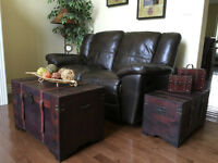 2 Storage treasure trunks/chests or coffee and end table