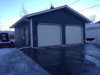 New Garages and Renos