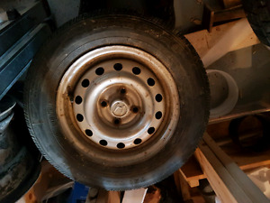 """4 96 to 2000 Honda civic 13"""" rims with good tires"""