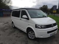 2013 VW T5 Transporter campervan motorhome poptop 1 OWNER 1yr warranty