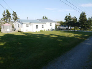 LAWRENCETOWN. Furnished 3 Bdrm Oceanview Home Near Beach.