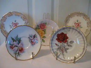 VINTAGE REPLACEMENT CHINA TEA CUP SAUCERS [ONLY]