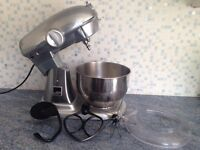 Gordon Ramsay Professional Cake Dough Mixer Machine,Stainless Steel,Powerful Motor