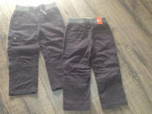 3T Pants - NWT (two pairs - twins)