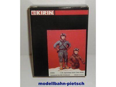 """KIRIN 25004 """"Japanische Panzer-Besetzung, Tank Crew, WWII"""", 1:35, neu in OVP"""