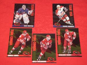 Hayley Wickenheiser 1994-95 Classic Women of Hockey-plus 4 more