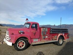 1956 INTERNATIONAL FIRE TRUCK