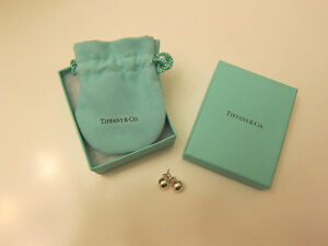 Tiffany 8mm earrings