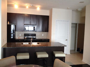 Furnished condo 35th floor, 3 bedrooms, Square One Mississauga