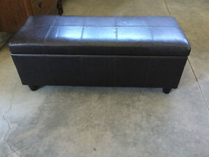 Blanket bench and storage coffee table