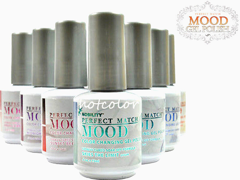 LeChat Perfect Match MOOD Changing Color Gel Polish Full Col