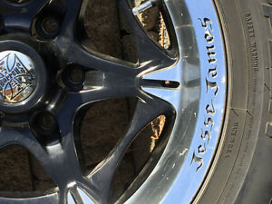 "18"" Jesse James Rims & Tires"