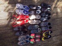 Job lot bundle of Boys Shoes
