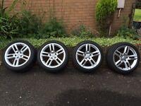 Audi A5 18'' Alloys - Genuine S-line - Pirelli tyres