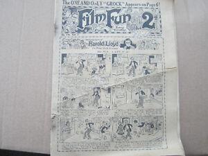 Film Fun magazine ,Tues. March 16,1929