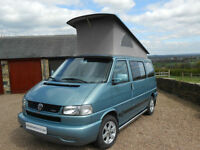 Volkswagen T4 Westfalia California Event Pop Top Camper Van for Sale