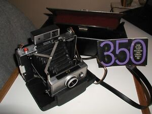 OLDIE 350 POLAROID LAND CAMERA