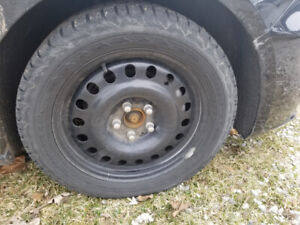 CHEVY MALIBU Winter Tires/RIMS Used - Discounted - 80% Tread