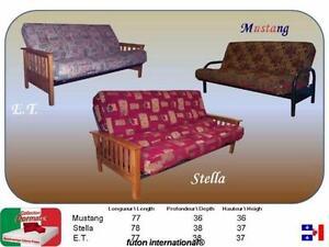 Besoin d'un futon ? Un futon: base en métal et matelas 10''. Financement aucun cas refusé disponible