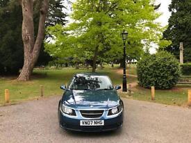 2007 Saab 9-5 1.9TiD Vector Sport Turbo Diesel 4 Door Saloon Blue