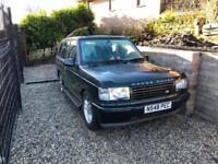 Land Rover Range Rover P38 2.5 DSE Diesel Auto 4x4 Complete Vehicle NO MOT