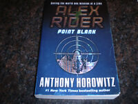 ALEX RIDER POINT BLANK BOOK BY ANTHONY HOROWITZ