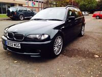 BMW 330i M Sport Touring stunning Green Cream Leather Just Serviced
