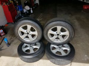 tyres and rims $400 ono Bundall Gold Coast City Preview