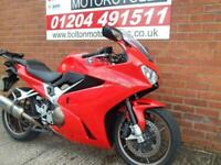 Honda's best selling VFR 800 F-E, Includes Akrapovic Can