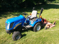 2010 New Holland Boomer 1020 Tractor with 5ft Mower