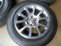 "GMC Sierra factory 20"" wheels tires new"