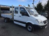 Mercedes-Benz Sprinter 316 CDI 163 bhp crew cab 11 feet alloy body 2012 12 reg
