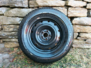 4 Michelin X-Ice Winter Tires with Rims - $600