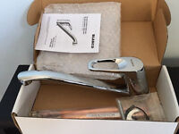 Brandnew high spec solid crest chrome kitchen sink tap,costs £174,only at £45,no offers/time wasters