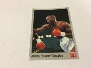 JAMES BUSTER DOUGLAS Columbus Ohio Boxing 1991 AW Sports Card#13