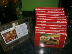 LIVRE RECETTE 18 SECTION GREAT AMERICAN -.RECIPES