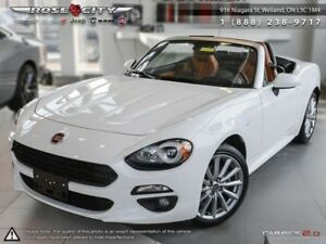 2018 Fiat 124 Spider Lusso  - Leather Seats - *