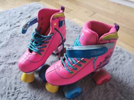 SFR Girl's roller skates size UK 1