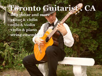 Wedding Ceremony Music in St.Catharines - Guitar, Violin, Cello